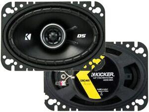 """Kicker DS Series 4x6"""" 2-way Coaxial Car Speakers *43DSC4604"""