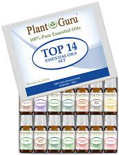 Essential Oil Set 14 - 10ml 100% Pure Therapeutic Grade Sampler Kit Bulk Lot
