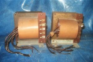 2-Netztrafo-Telefunken-Klangfilm-Tubeamp-Power-Transformer-4V-6-3V-2x320V