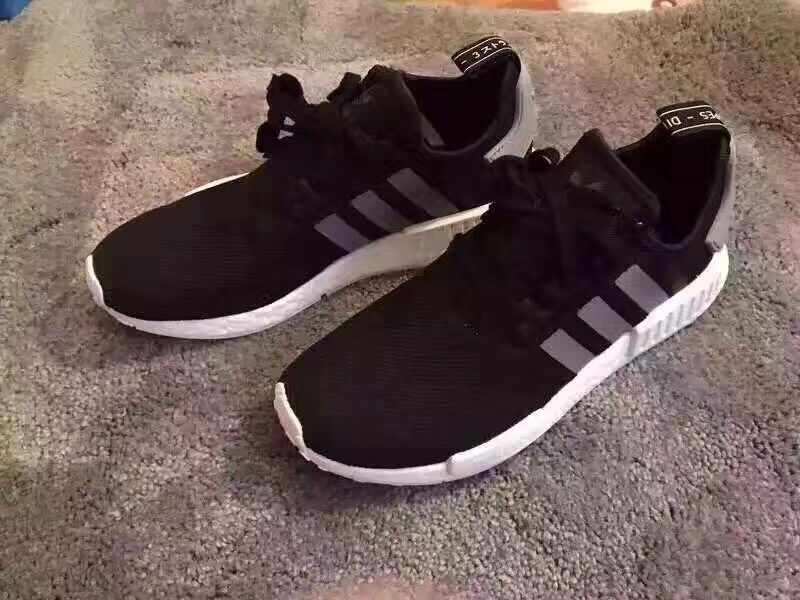 Adidas NMD R1 Boost Black Charcoal S31504 Size 9