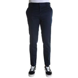 Dickies-Slim-Fit-Work-Pant-Pantalone-Uomo-WE872-DN-Dark-Navy