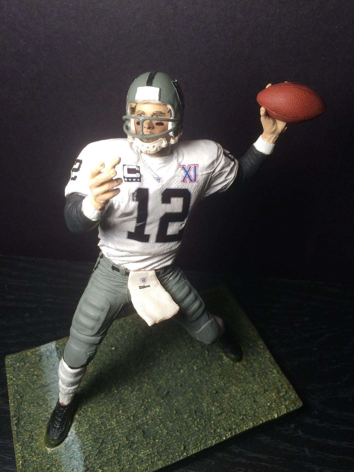 Ken Stabler Oakland Raiders Jersey Custom 6