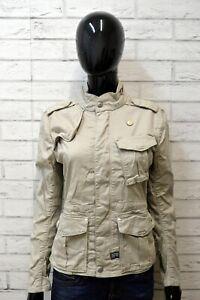 Giacca-Blazer-Giubbotto-Donna-G-STAR-Taglia-Size-S-Cappotto-Nero-Jacket-Woman