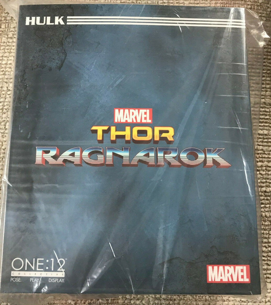 MEZCO ONE 12 COLLECTIVE THOR RAGNAROK HULK NEW SEALED IN HAND PLANET HULK