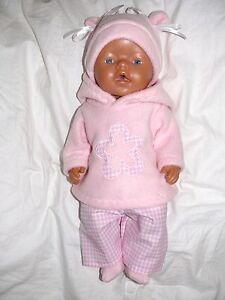 Sonstige Puppenkleidung für Baby Puppen 43 cm *born in badf*