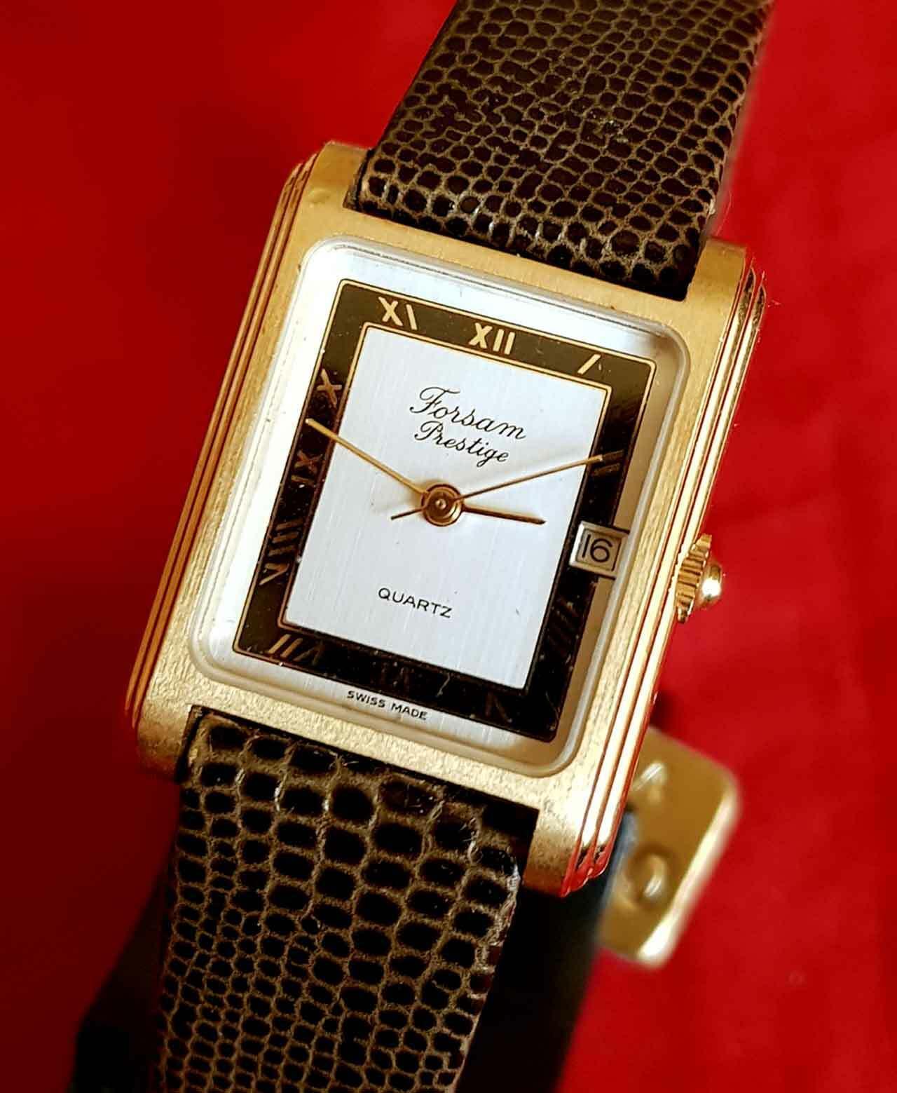 Reloj FORSAM PRESTIGE, Swiss made, vintage, NOS (new old stock)