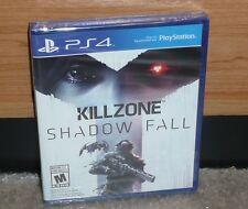PS4 - KILLZONE SHADOW FALL (Brand NEW Sealed) 2013 NTSC worldwide shipping
