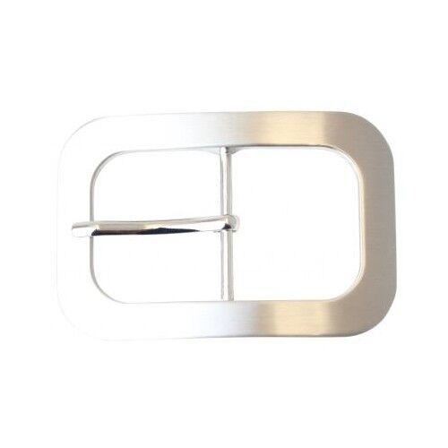 Gürtelschließe 4,0 cm  Dorn Rund Oval Doppel Wechselschnalle