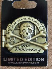 Disney pin *Pirates of the Caribbean 40th Anniversary hinged pin*** New WDW