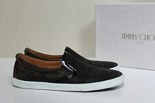 ab6a2c7c8899 item 7 sz 10   40.5 Jimmy Choo DEMI Black Glitter Slip On Trainers Flat  Slipper Shoes -sz 10   40.5 Jimmy Choo DEMI Black Glitter Slip On Trainers  Flat ...
