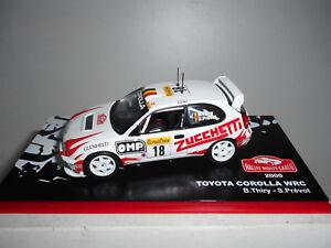TOYOTA-COROLLA-WRC-RALLY-MONTE-CARLO-2000-THIRY-ALTAYA-IXO-1-43