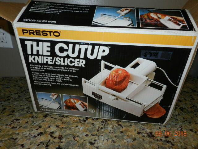 Presto the cutup electric knife slicer meat carving