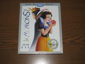 Snow-White-and-the-Seven-Dwarfs-Blu-ray-DVD-2016-with-Slip-Cover-No-Digital