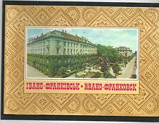URSS Ucraina Ivano-Frankivsk 1979 set of 15 MC MK cartella 3 lingue FOLDER NEW!