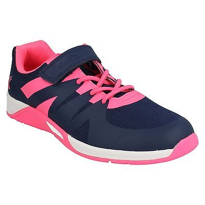 Trace Star Chicas Clarks Riptape Informal Deportivo Ligero Zapatillas Zapatos al Aire Libre