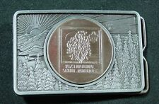 Belt Buckle - 1973 National Scout Jamboree - 3x2 - 1A