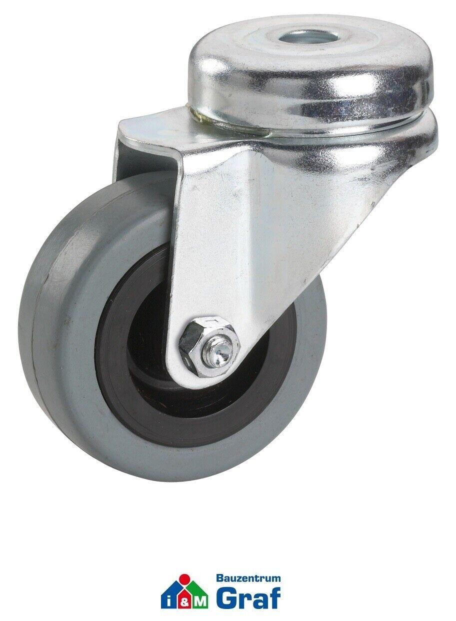 s l1600 - Dörner + Helmer Aparato - Rueda de Dirección,Neumáticos Goma Ø50mm ,mm /# 830739