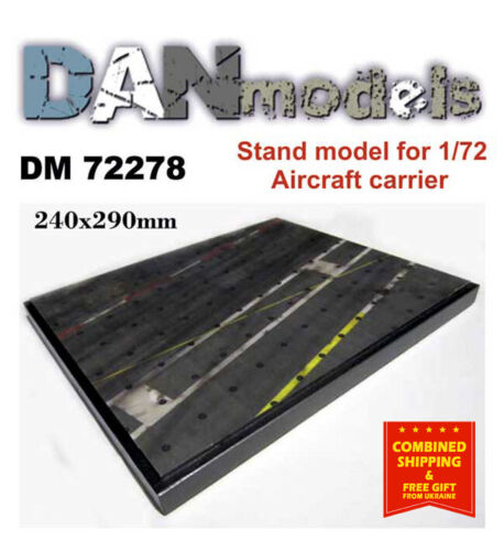 Aircraft Carrier Deck 240X290 mm Dan Models 72278-1//72 Stand for Models Topic