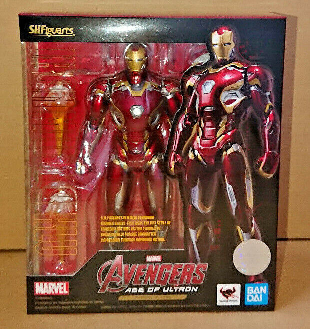 Bandai S.H Figuarts Iron Man Mark 45 Acción Figura Marvel Edad de Ultron