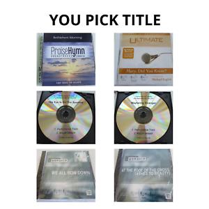Contemporary Christian Performance Accompaniment Sound Tracks CDs YOU PICK