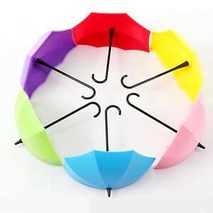 3PCS-Cute-Umbrella-Wall-Mount-Key-Wall-Hook-Hanger-Organizer-Holder-Durable-KS3