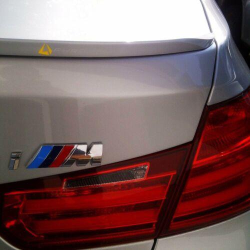 Fyralip Y23 Custom Painted Trunk Lip Spoiler For BMW 3 Series F30 Sedan 12-19