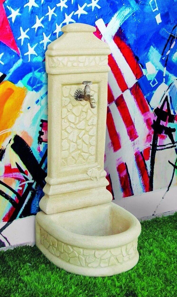 BONFANTE Fontana Fontanella da muro pietra ricostruita VOLPEDO Tufo