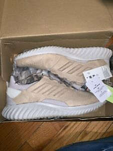 dfeb53dc26a06 Adidas Mens Size 10.5 Alphabounce CR M Tan Leather Running Shoes ...