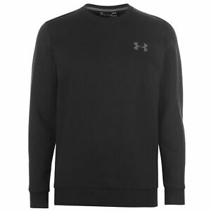 Under-Armour-Mens-Rival-Fitted-Crew-Sweater-Jumper-Pullover-Long-Sleeve-Neck