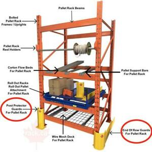 Industrial Shelving - Pallet Racking - Guardrail - Mezzanine - Cantilever - Wire Partition North Bay Ontario Preview