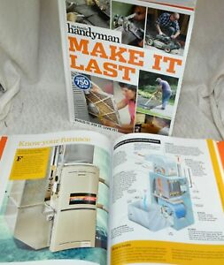 Details About Dad Husband Gift 2019 Family Handyman Make It Last 750 Tips Diy Home Repair