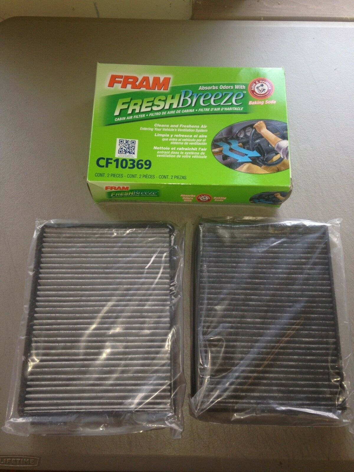 FRAM CF11172 Fresh Breeze Cabin Air Filter