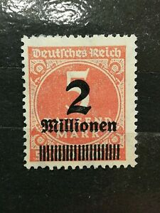 German-Stamps-German-Empire-1923-Overprinted-Stamp
