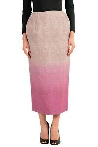 Maison-Margiela-Multi-Color-Women-039-s-Pencil-Skirt-Sz-XS-S-M