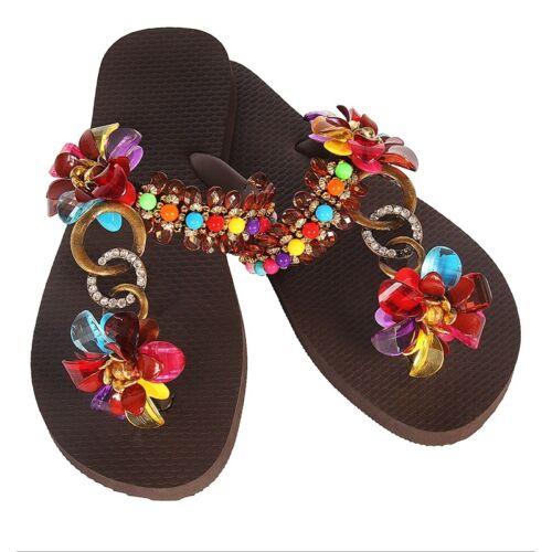 Luxus Flip Flops-Chanclas Simone Herrera-ESTRELLA-Riemchen Sandale Zehentrenner