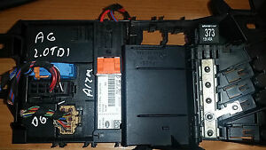 audi a6 c6 2006 2 0 tdi fuse box and comfort module ecu. Black Bedroom Furniture Sets. Home Design Ideas