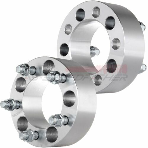 """2X 5 Lugs 5x4.5  2/"""" 50mm Thick Wheel Spacers Adapter fits 87-2006 Jeep Wrangler"""