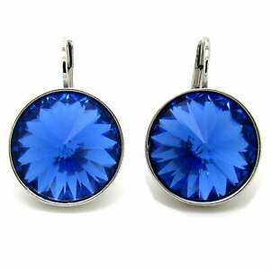 Large-Round-Bella-Sapphire-Blue-Earrings-Made-with-SWAROVSKI-Crystals