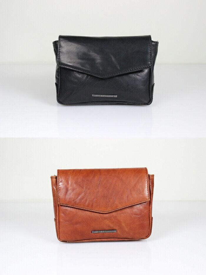 Trendlabel Spikes Spikes Spikes & Sparrow Gürteltasche Belt Bag Vintage Style Schwarz & Brandy 881577