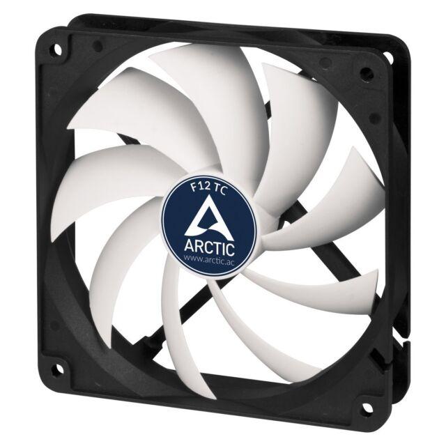 Arctic F12 TC 120mm PC Case Cooling Fan Temperature Controlled Silent/Quiet