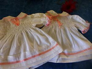 poupee-bella-raynal-gege-vintage-lot-2robes-35cm-neuves
