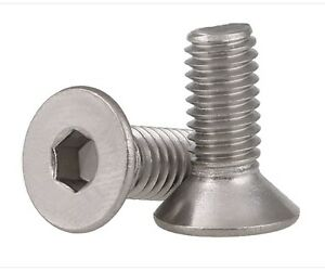 M4-8MM-A2-304-STAINLESS-STEEL-FLAT-HEAD-SOCKET-CAP-SCREW-ALLEN-KEY-BOLTS
