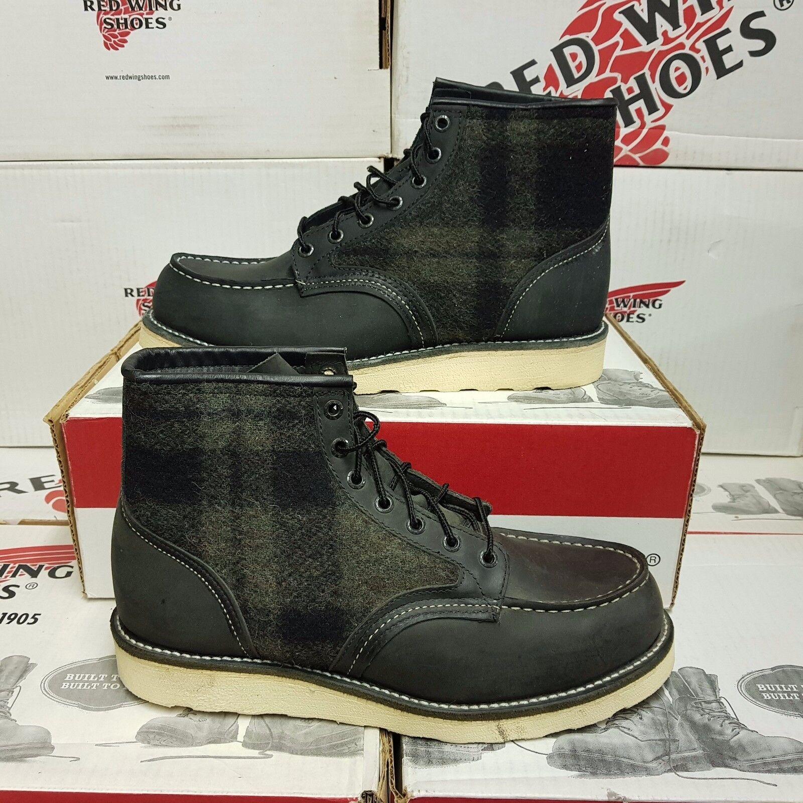 rosso WING scarpe 9002 uomo leather stivali scarpe US 9 EUR 42 (pv 379 )