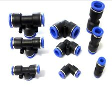 Nylon Pneumatic Push Fit Connector. Joiner. Speed Fit Air Water Lines Hose