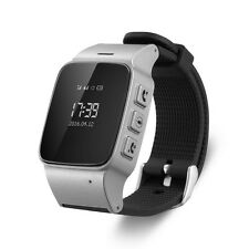 Security GPS Locator Smart Watch Phone GPS Tracker SOS Alarm for Android IOS