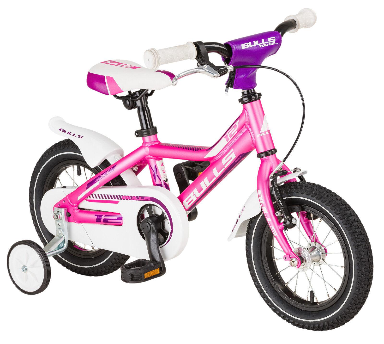Bulls Enfants Enfants Enfants Vélo Tokee Lite 12 in Rose Mat ATB pour Kids 8d3719