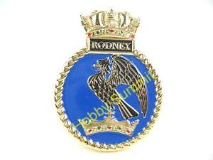 HMS-RODNEY-WWII-Royal-Navy-Battleship-1-200-1-350-1-700-Display-Badge-Crest