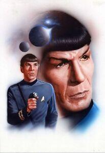 Star-Trek-Mr-Spock-OTTIMO-NUOVO-ART-POSTER