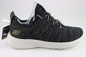 Details about Women s Skechers Burst-After Party Black Gold 12778 BKGD Air-Cooled  Memory Foam 7119a67ac9