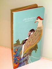 Retro art deco style notepad / notebook, 48 pages, stitched binding, NEW #3